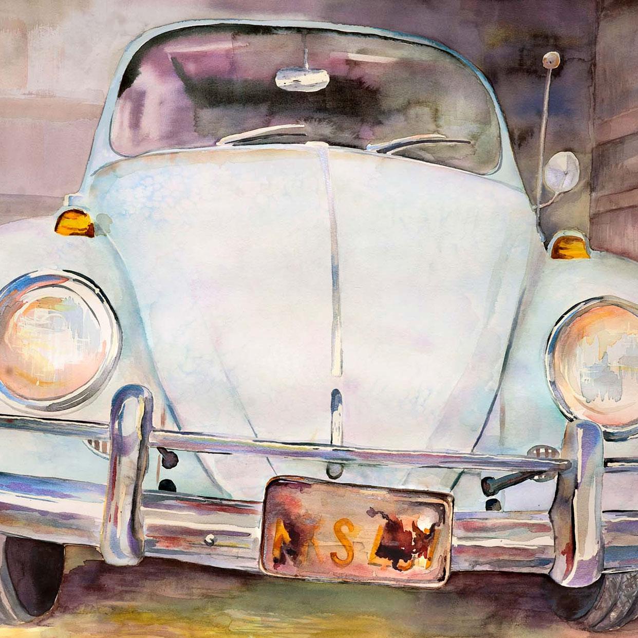 Richard D. Curtin - Watercolor