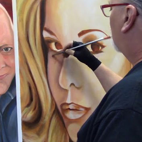Richard D. Curtin - The Artist